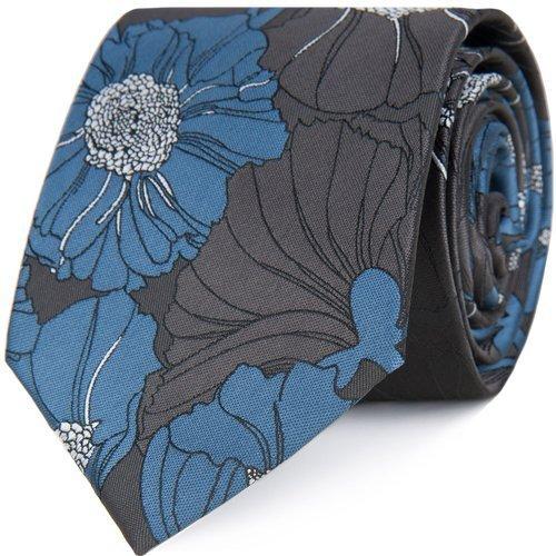 Krawat Flower Fields Blue