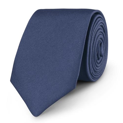 Krawat Plain Navy