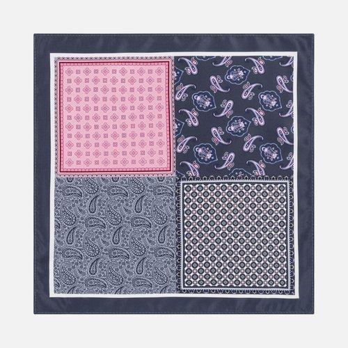 Poszetka Multi Pattern Grey