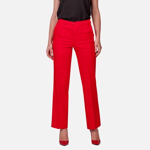 Spodnie damskie Oversize Rosso