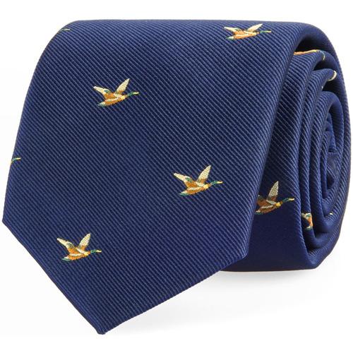 Krawat Navy Ducks