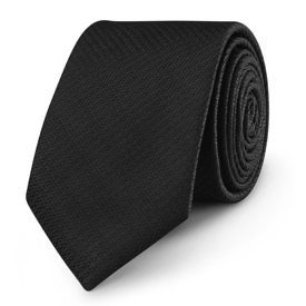 Krawat Black Structure